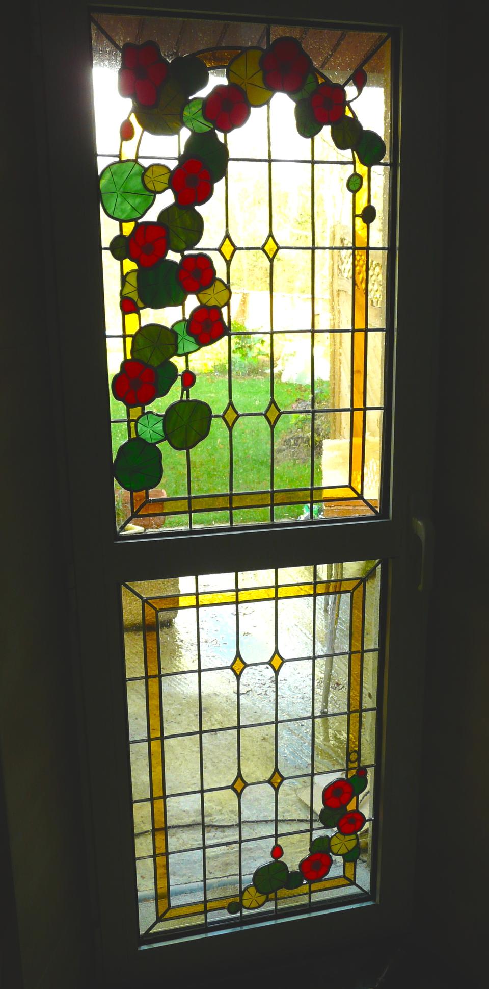 d coration int rieure cr ation restauration simple pur transparence vitrail classique motif. Black Bedroom Furniture Sets. Home Design Ideas