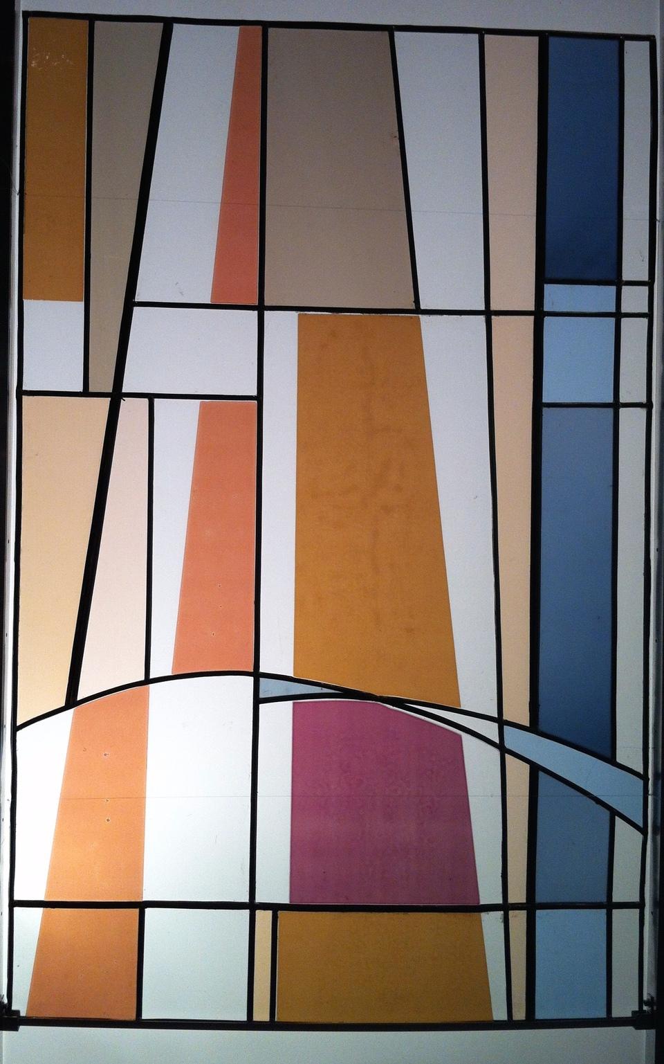 verre vitrail contemporain pur verri re atelier art d co transparence paroi cloison s parative. Black Bedroom Furniture Sets. Home Design Ideas